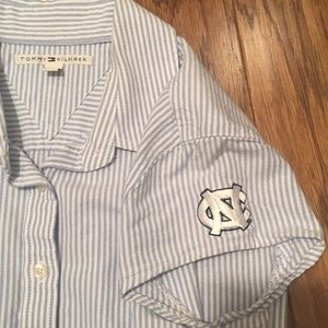 UNC Tommy Hilfiger striped shirt